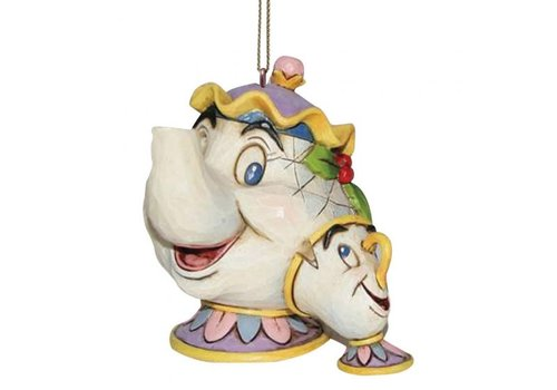 Disney Traditions Mrs Potts & Chip Hanging Ornament - Disney Traditions