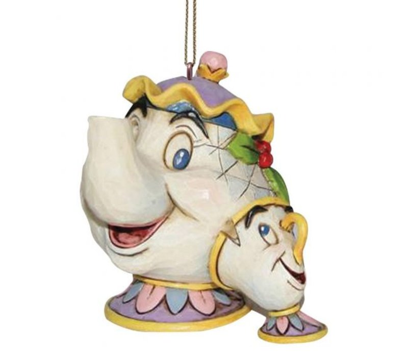 Disney Traditions - Mrs Potts & Chip Hanging Ornament