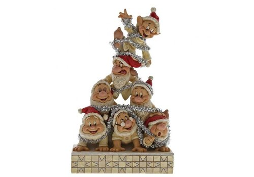 Disney Traditions Precarious Pyramid (Seven Dwarfs) - Disney Traditions