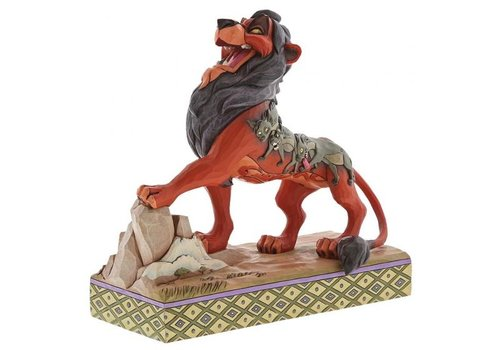 Disney Traditions Preening Predator (Scar)