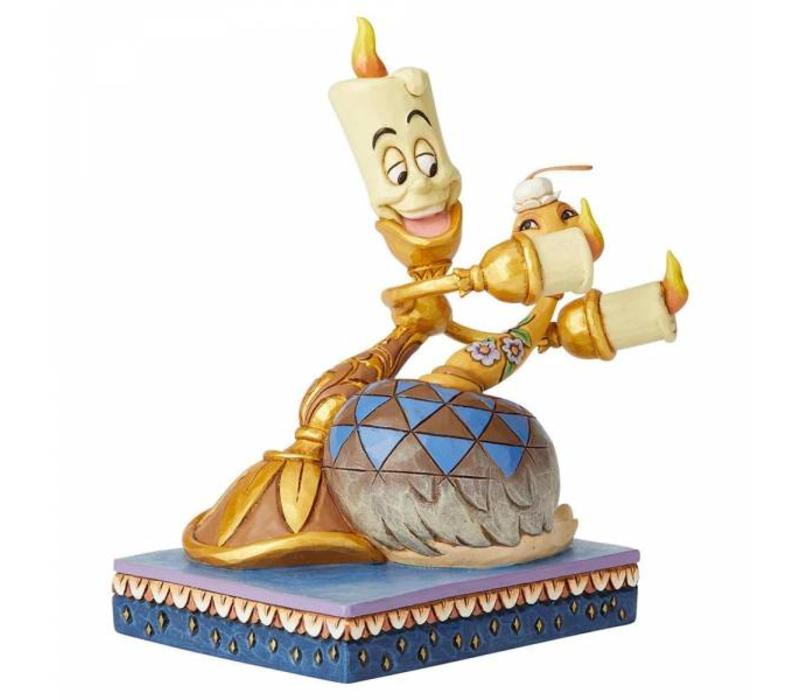 Disney Traditions - Romance by Candlelight (Lumiere and Feather Duster)