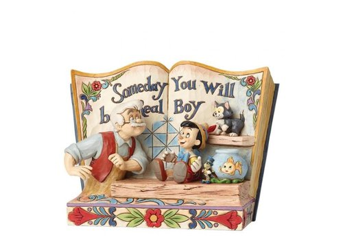 Disney Traditions Someday You Will Be A Real Boy (Storybook Pinocchio) - Disney Traditions