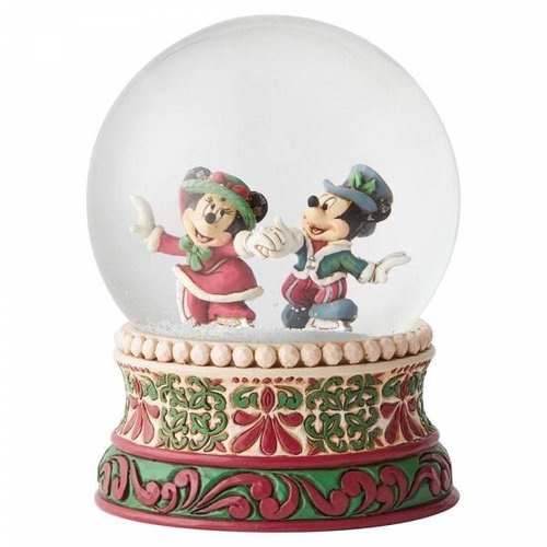 Splendid Skaters (Victorian Mickey & Minnie Mouse Waterball)