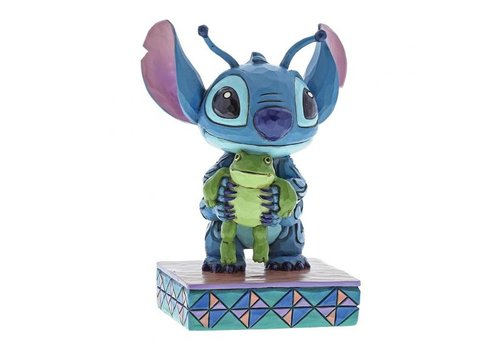 Disney Traditions Strange Life-Forms (Stitch with Frog)