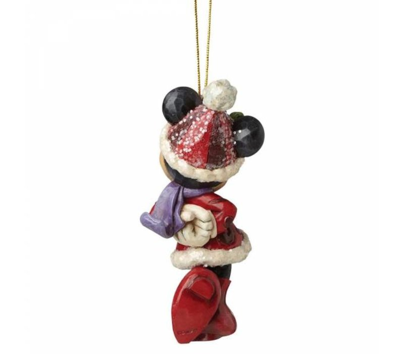 Disney Traditions - Sugar Coated Minnie Mouse Hanging Ornament