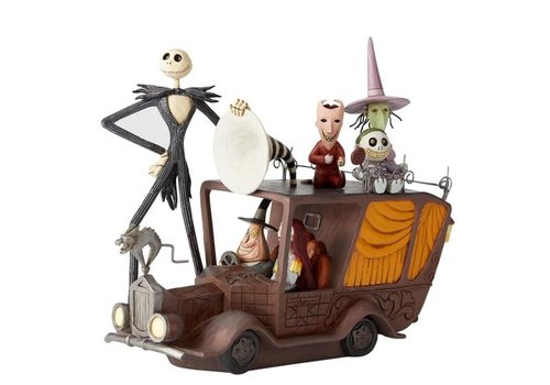 Disney Traditions Terror Triumphant (Nightmare Mayors Car)