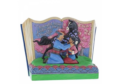 Disney Traditions The Greatest Honor is You as a Daughter (Storybook Mulan) - Disney Traditions