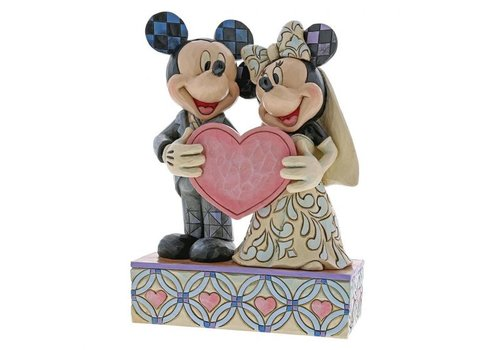 Disney Traditions Two Souls, One Heart (Mickey Mouse & Minnie Mouse) - Disney Traditions