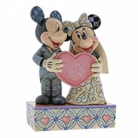 Disney Traditions - Two Souls, One Heart (Mickey Mouse & Minnie Mouse)