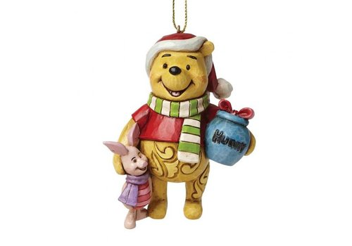 Disney Traditions Winnie the Pooh and Piglet Hanging Ornament - Disney Traditions