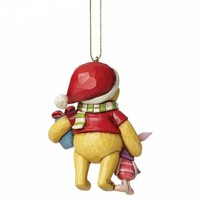 Disney Traditions - Winnie the Pooh and Piglet Hanging Ornament