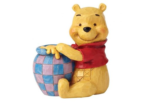 Disney Traditions Winnie the Pooh with Honey Pot Mini - Disney Traditions