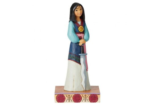 Disney Traditions Winsome Warrior (Mulan Princess Passion) - Disney Traditions