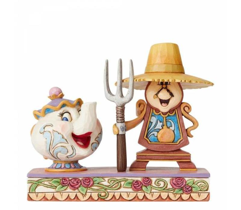 Disney Traditions - Workin Round the Clock (Mrs Potts & Cogsworth)