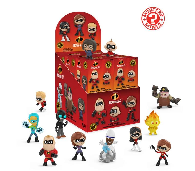 Funko Mystery Minis - Incredibles 2
