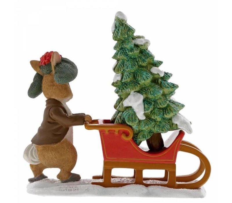 Beatrix Potter - Benjamin Bunny Preparing for Christmas