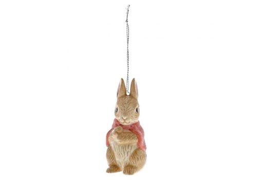 Beatrix Potter Flopsy Sculpted Hanging Ornament