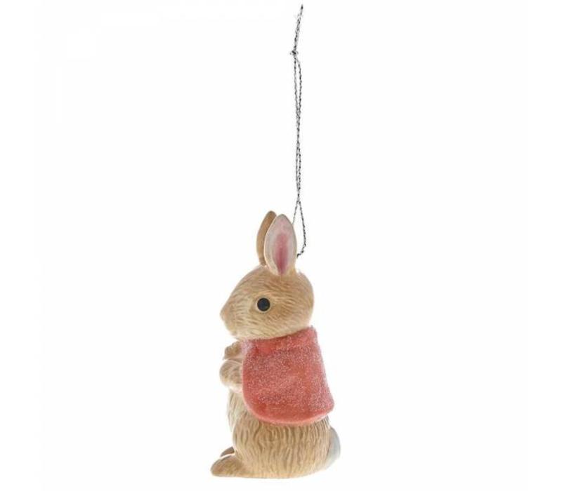 Beatrix Potter - Flopsy Sculpted Hanging Ornament