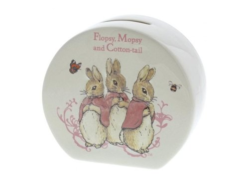 Beatrix Potter Flopsy, Mopsy & Cotton-tail Money Bank - Beatrix Potter