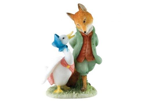 Beatrix Potter Jemima & The Foxy Whiskered Gentleman