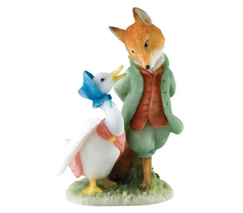 Beatrix Potter - Jemima & The Foxy Whiskered Gentleman
