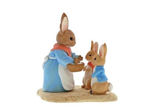 Beatrix Potter Mrs. Rabbit, Flopsy & Peter Rabbit - Beatrix Potter