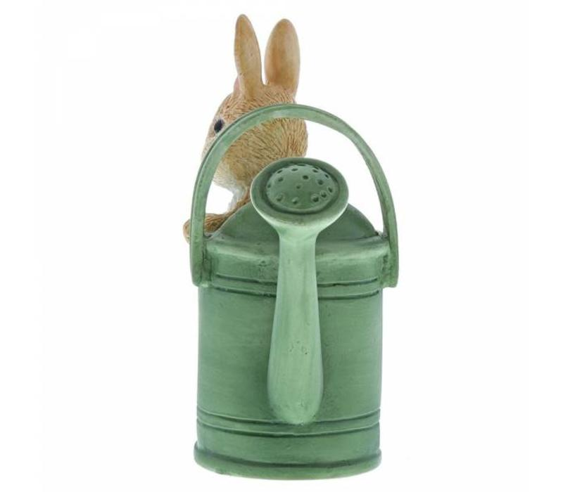 Beatrix Potter - Peter in Watering Can Mini Figurine