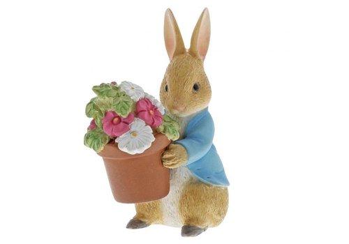 Beatrix Potter Peter Rabbit Brings Flowers - Beatrix Potter