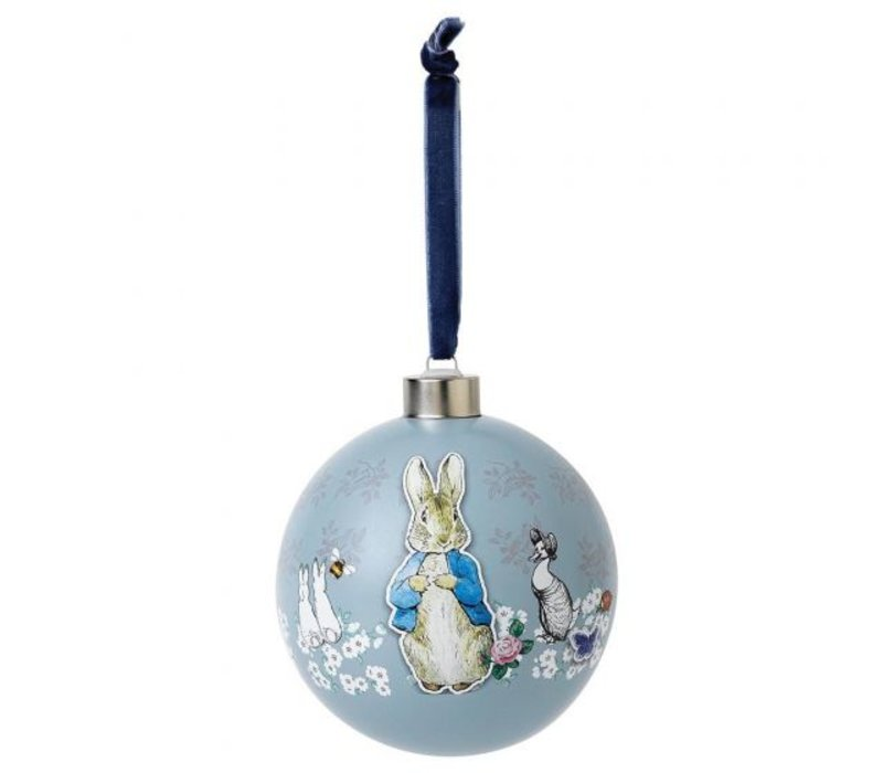 Beatrix Potter - Peter Rabbit Decorative Bauble