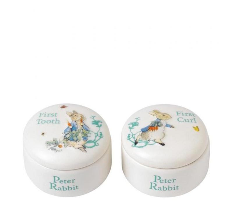 Beatrix Potter - Peter Rabbit First Tooth & Curl Box