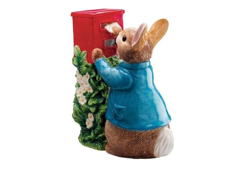 Beatrix Potter Peter Rabbit Posting a Letter Money Bank