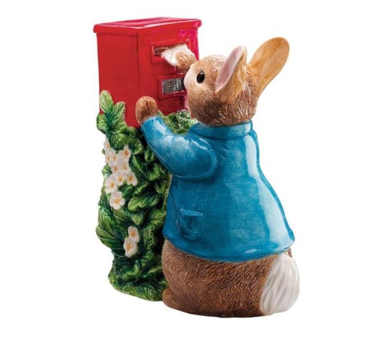Beatrix Potter - Peter Rabbit Posting a Letter Money Bank