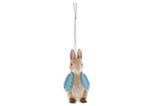Beatrix Potter Peter Rabbit Sculpted Hanging Ornament