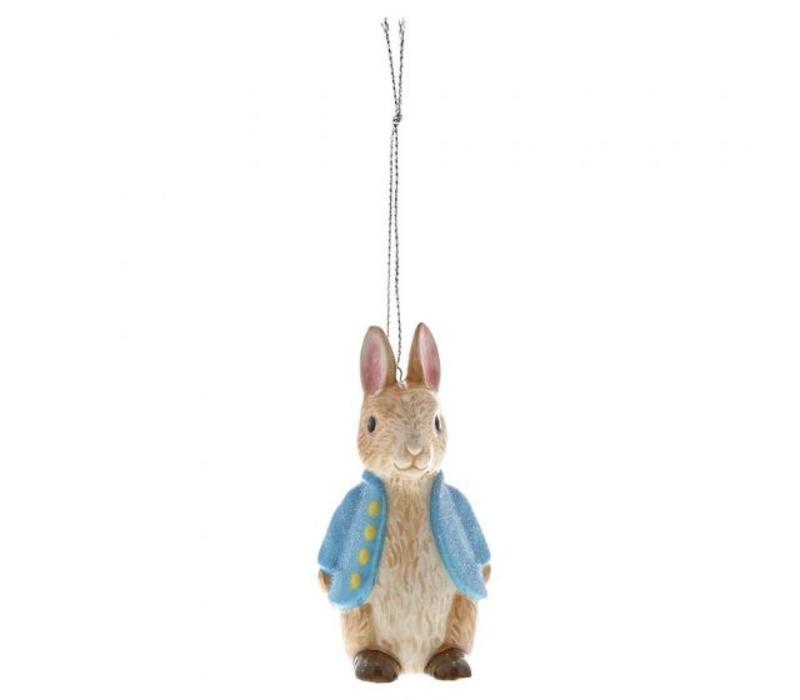 Beatrix Potter - Peter Rabbit Sculpted Hanging Ornament