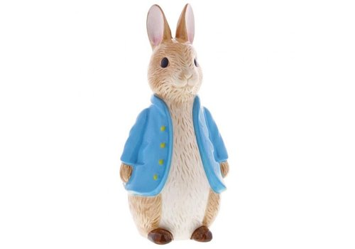 Beatrix Potter Peter Rabbit Sculpted Money Bank