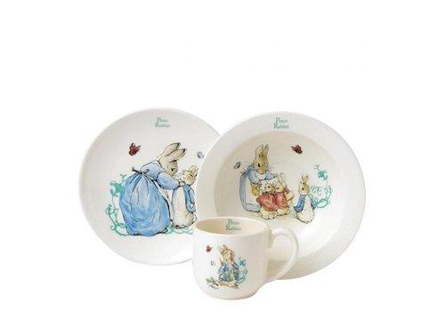 Beatrix Potter Peter Rabbit Three-Piece Nursery Set