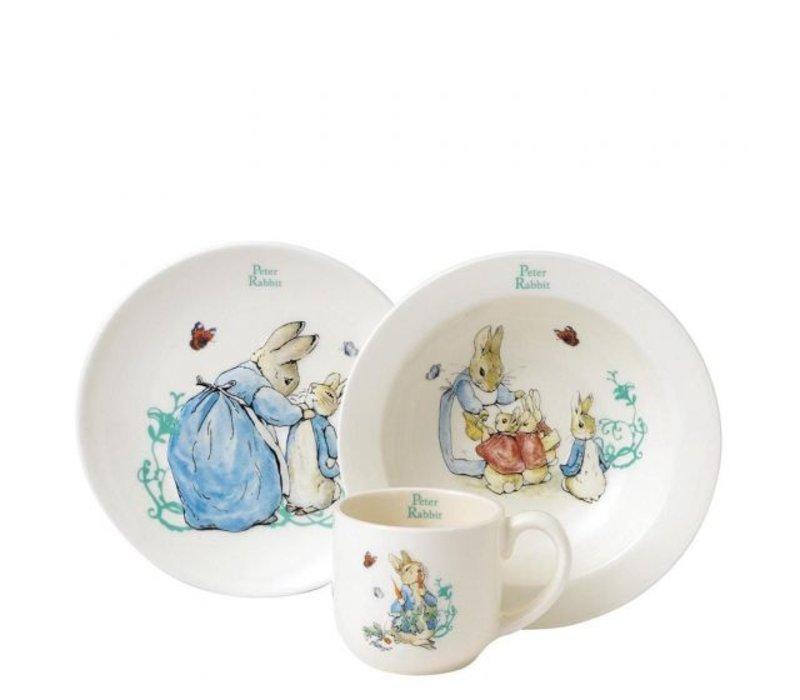 Beatrix Potter - Peter Rabbit Three-Piece Nursery Set
