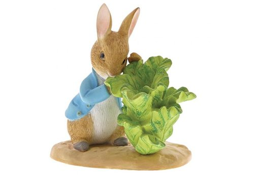 Beatrix Potter Peter Rabbit with Lettuce