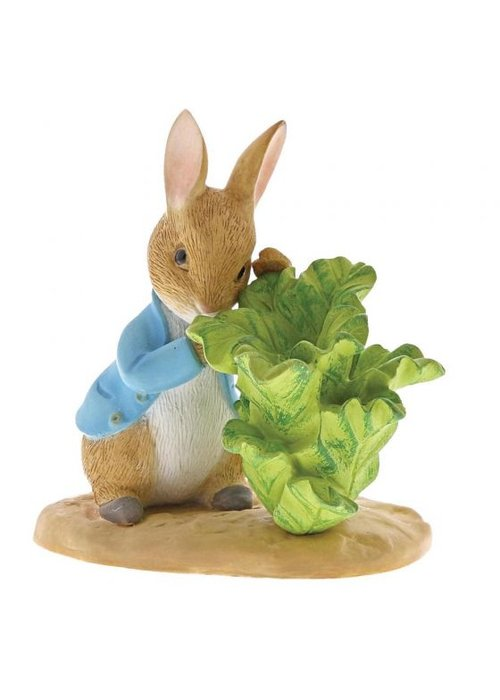 Beatrix Potter Peter Rabbit with Lettuce