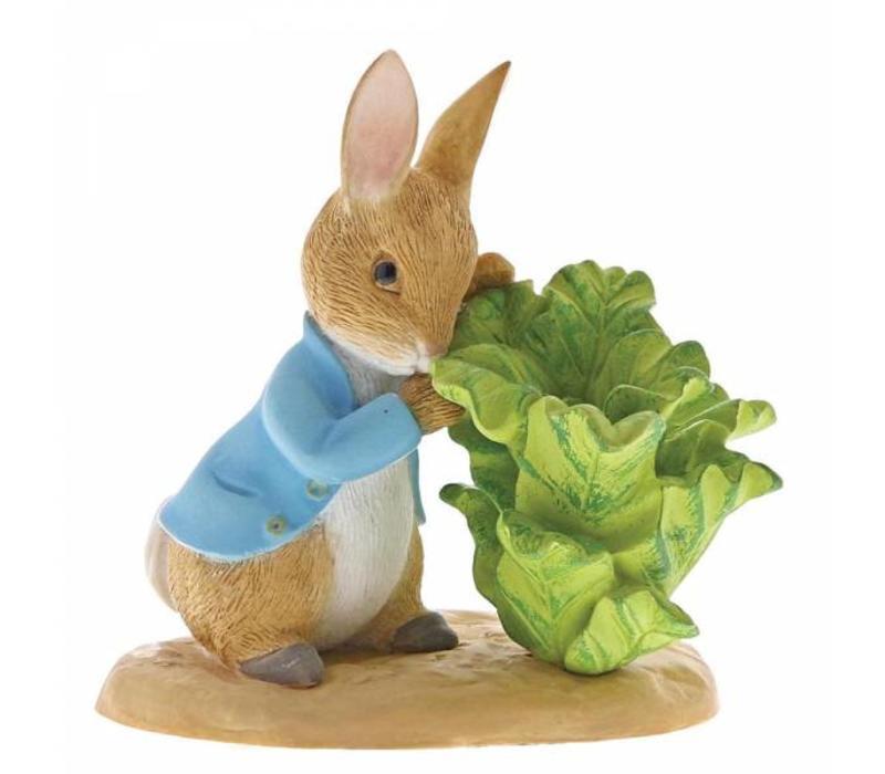 Beatrix Potter - Peter Rabbit with Lettuce