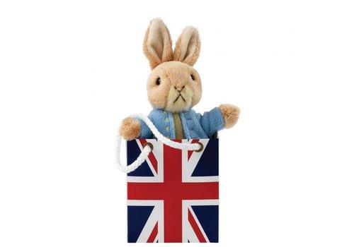 Beatrix Potter Peter Rabbit in Union Jack Bag - Beatrix Potter