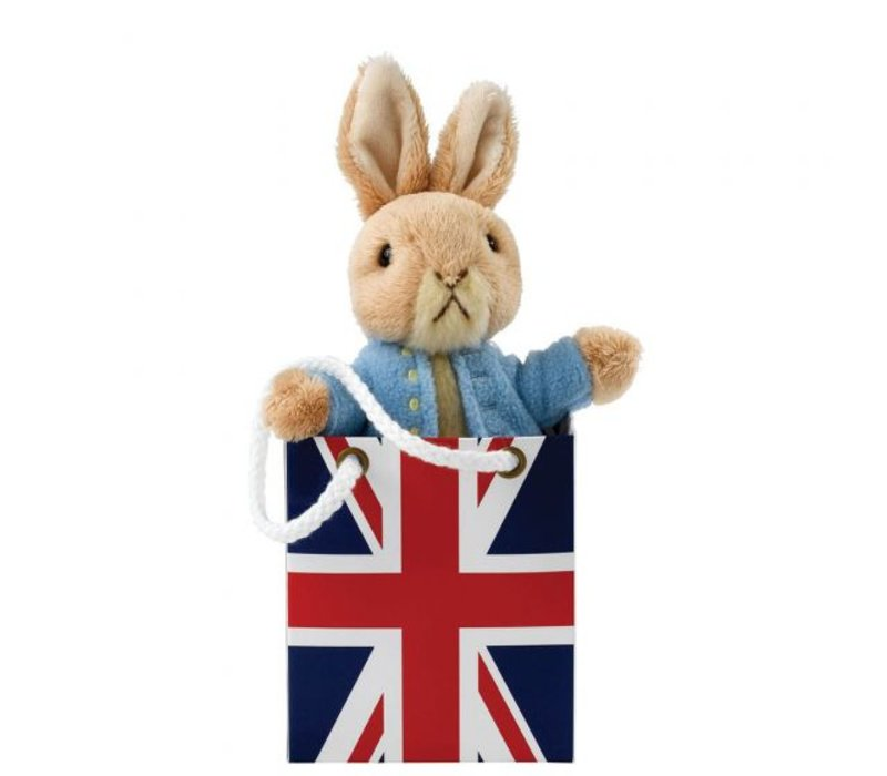 Beatrix Potter - Peter Rabbit in Union Jack Bag