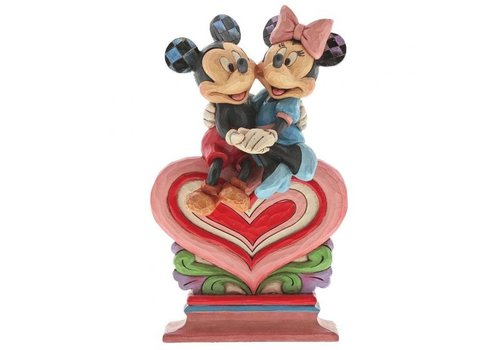 Disney Traditions Heart to Heart (Mickey Mouse & Minnie Mouse) - Disney Traditions