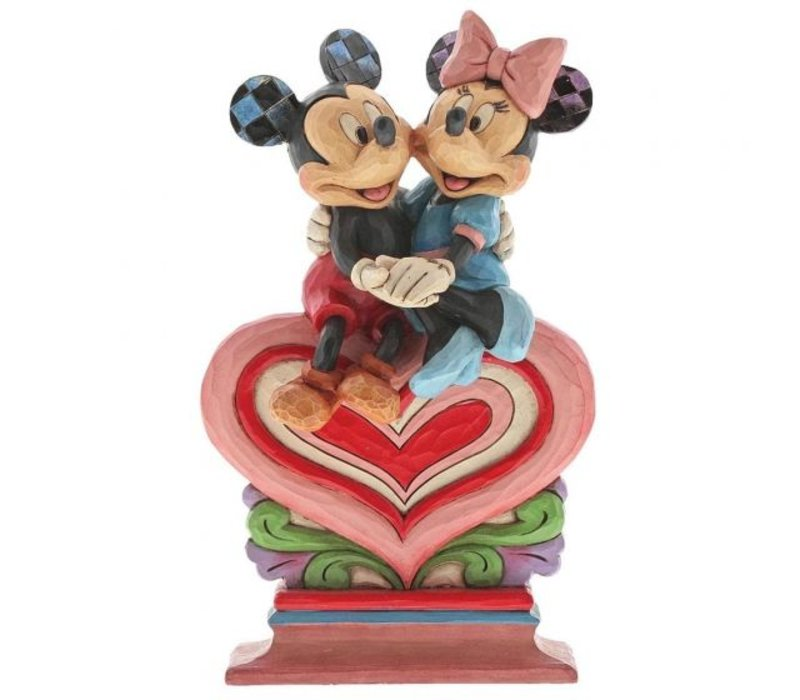 Disney Traditions - Heart to Heart (Mickey Mouse & Minnie Mouse)