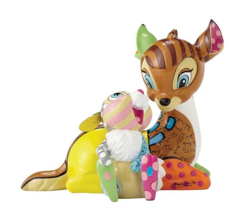 Disney by Britto - Bambi & Thumper