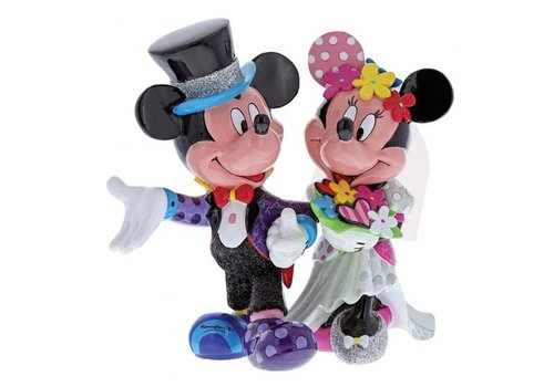 Disney by Britto Mickey & Minnie Mouse Wedding
