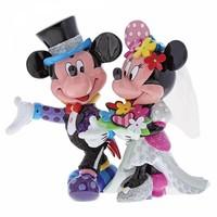 Disney by Britto - Mickey & Minnie Mouse Wedding