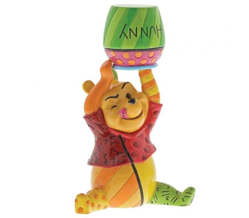 Disney by Britto - Winnie the Pooh and Honey Mini