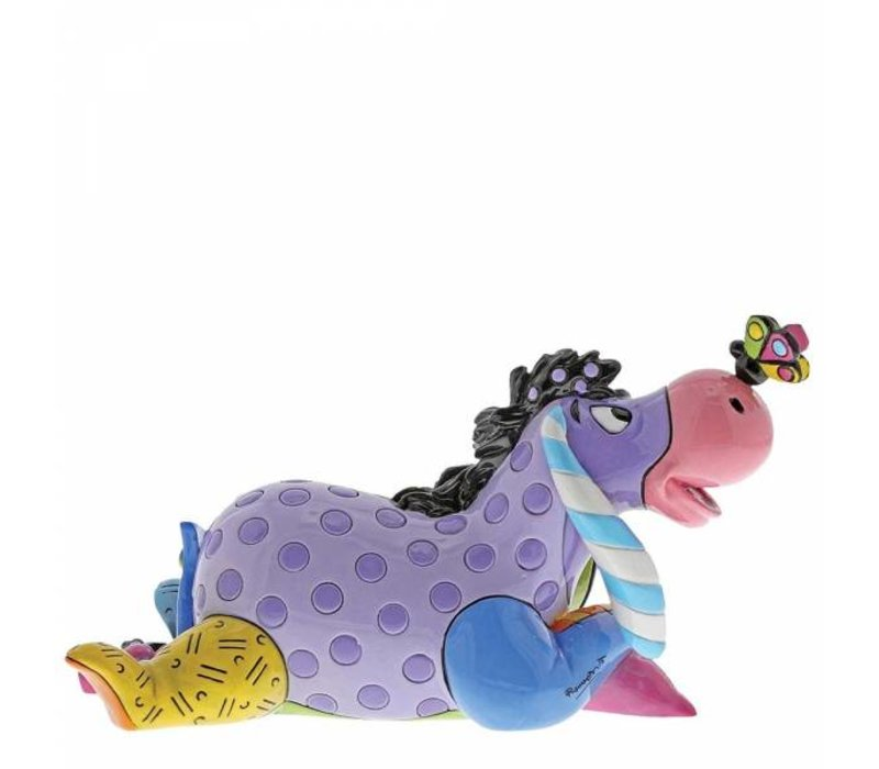 Disney by Britto - Eeyore with Butterfly Mini