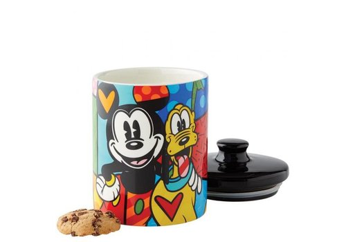 Disney by Britto Mickey & Pluto Cookie Jar